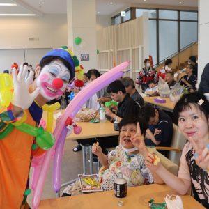 施設で夏祭りを開催しました。